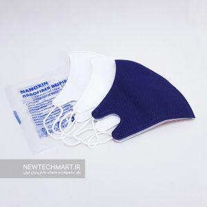 ماسک تنفسی نانویی N99 بزرگسال نانوکسین بدون سوپاپ (۳ عددی)