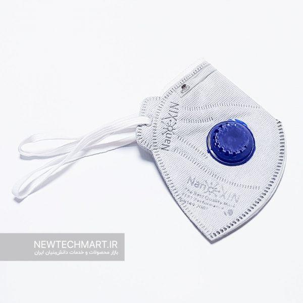 ماسک تنفسی نانویی N99 سوپاپدار نانوکسین - FFP3