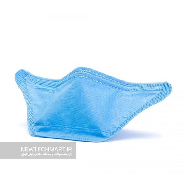 ماسک تنفسی نانویی N95 رسپینانو (۳ عددی) - مدل Flat Fold