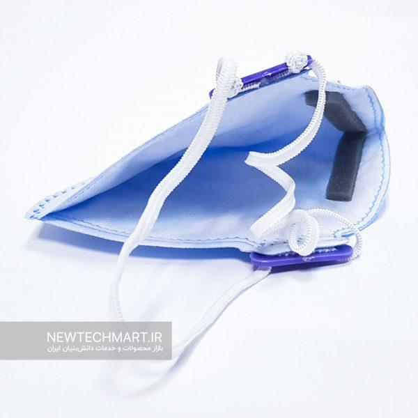 ماسک تنفسی نانویی N99 بدون سوپاپ گرینلایف - FFP3