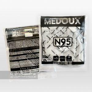 ماسک تنفسی N95 مداکس سوپاپدار (دارای فیلتر کربن فعال) - FFP2
