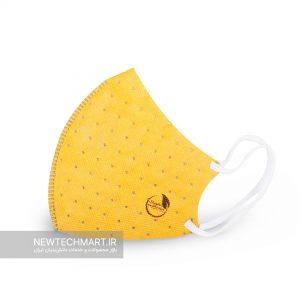 ماسک تنفسی نانویی کودکان N99 بدون سوپاپ نانوپاک (۲ عددی)