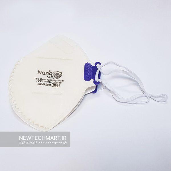 ماسک تنفسی نانویی N99 سوپاپدار نانوما