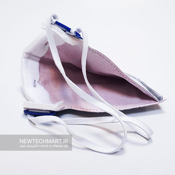 ماسک تنفسی نانویی N99 نانواکسین بدون سوپاپ - FFP3