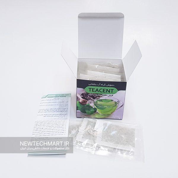 بسته ۲۰ عددی دمنوش گیاهی تیسنت (TEACENT) - دمنوش گیاه آببشقابی