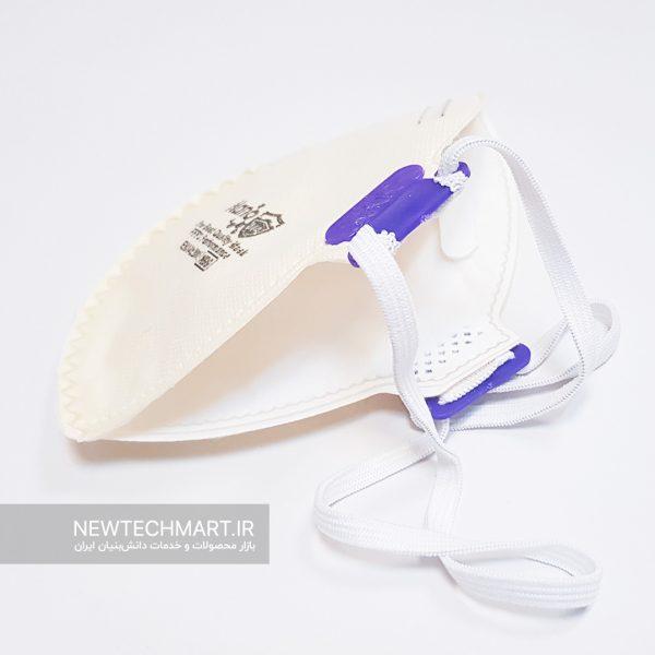 ماسک تنفسی نانویی N99 بدون سوپاپ نانوما