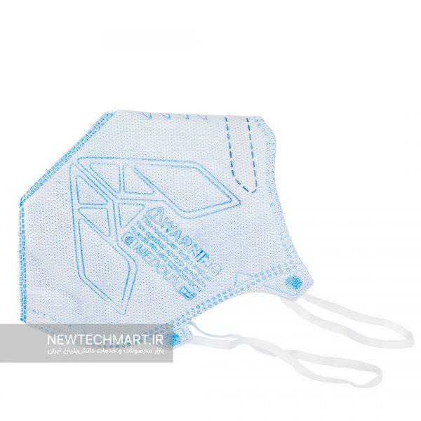 ماسک تنفسی N95 مداکس بدون سوپاپ (سایز متوسط)