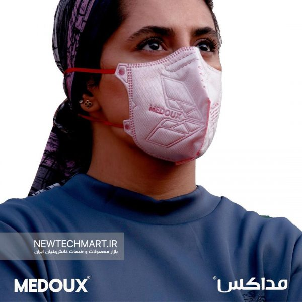 ماسک تنفسی N95 مداکس بدون سوپاپ – مناسب بانوان (LADY N95)
