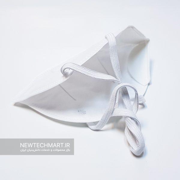 ماسک تنفسی نانویی N99 بدون سوپاپ نانوپاک (مدل کش پشت سر)