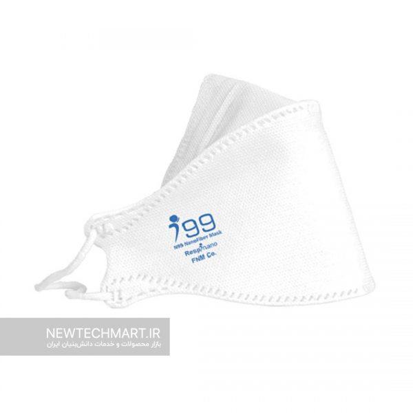 بسته ۲۵ عددی ماسک سه بعدی نانویی N99 بزرگسال رسپینانو - مدل ماهی (Fish type)