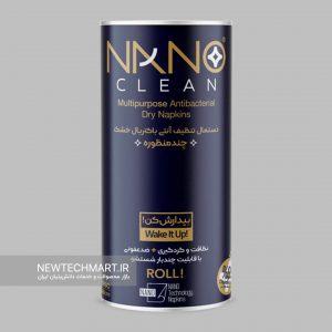 دستمال تنظیف آنتی باکتریال خشک چندمنظوره نانوکلین (Nano Clean)