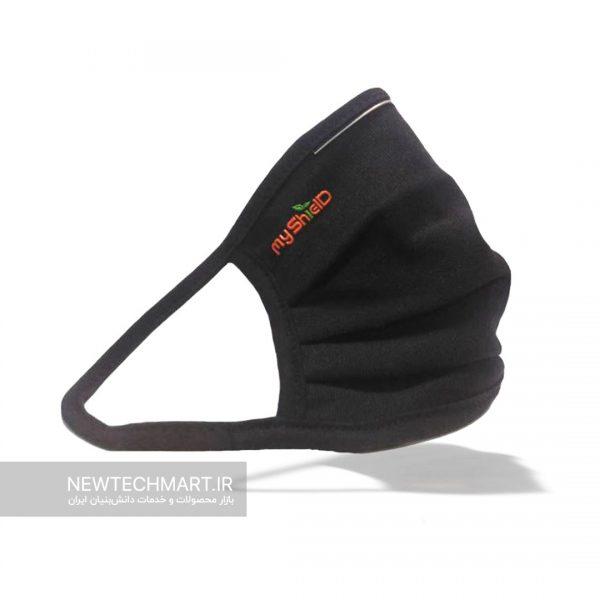 ماسک پارچهای دوطرفه قابل شستشوی ضدویروس و باکتری با الیاف نقره مایشیلد (MyShield) (ماسک نانوسینا)