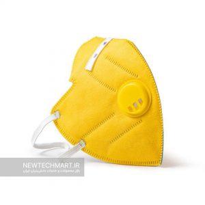 ماسک تنفسی نانویی N94 آنتیباکتریال سوپاپدار رسپینانو – FFP2