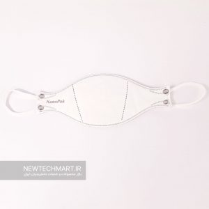 ماسک سه بعدی شش لایه N99 نانوپاک (3D Medical Mask – Pure O2) – مدل ماهی (Fish type)