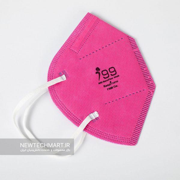 بسته ۱۰ عددی ماسک نانویی N99 بدون سوپاپ رسپینانو - مدل وی تایپ (V-Type)