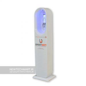دستگاه ضدعفونیکننده دست اسمارتسپت ایستاده پرو سخنگو - مدل Smartsept-Pro-T