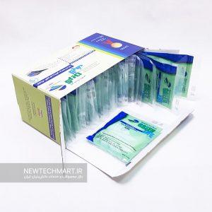 بسته ۲۵ عددی ماسک تنفسی نانویی N99 گرین لایف بدون سوپاپ – FFP3 (مجهز به فیلتر کربن فعال)