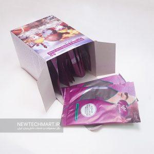 بسته ۱۲ عددی ماسک تنفسی N99 سوپاپدار ترمه (دارای فیلتر کربن فعال) - FFP3