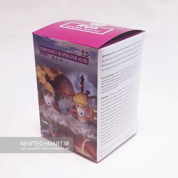بسته ۱۵ عددی ماسک تنفسی N95 کودکان بدون سوپاپ ترمه – FFP2 (رنگ سفید)